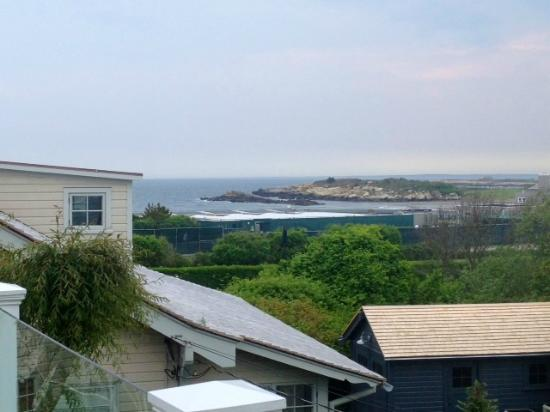 A Viewpoint: Ocean view from the 2nd floor (Ocean Cottage) deck