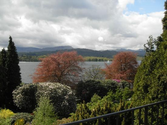 Langdale Chase Hotel: view from our room