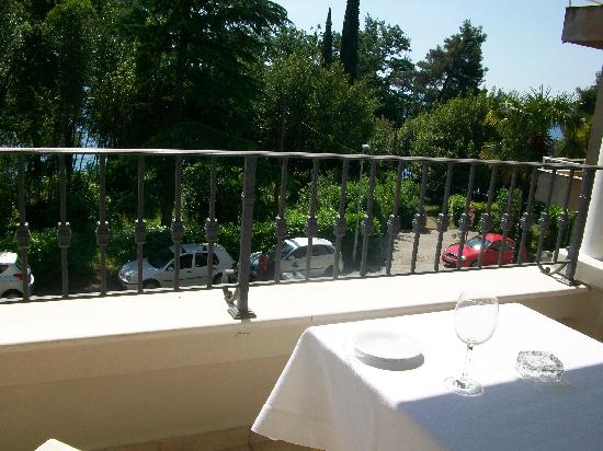 Hotel Villa Vera: balkon