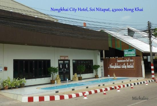 Nongkhai City Hotel: Eingang Nonkhai City Hotel