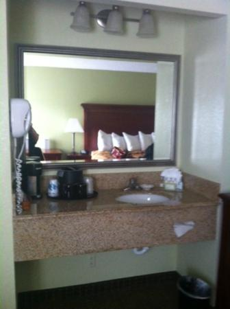 Alexis Inn & Suites Nashville Airport Opryland: Sink and vanity area