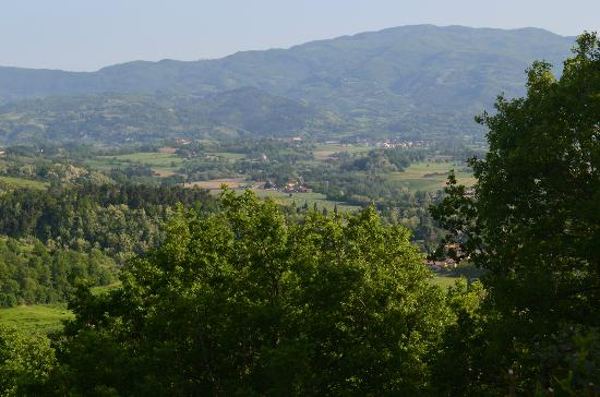 Mugello : View from our breakfast table