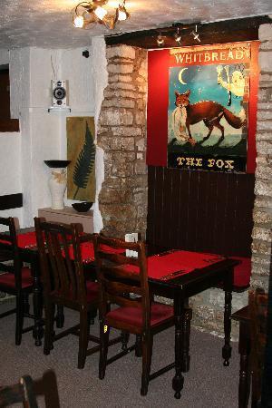 The Fox Inn : restaurant