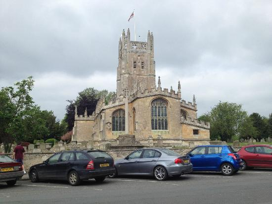 The Bull Hotel: Fairford Church