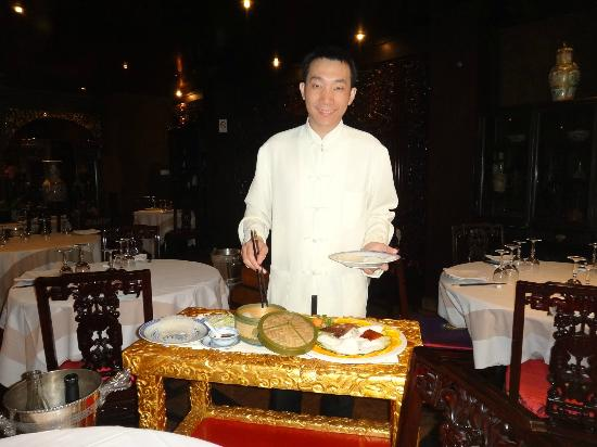 Passy Mandarin : table service for the duck