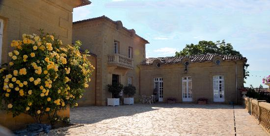 Chateau St Jacques Calon: Entrée du château