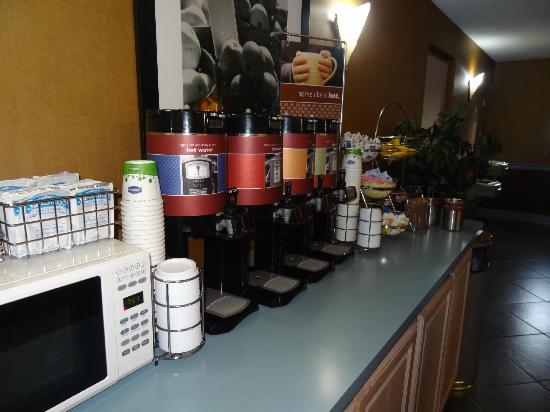 Baymont Inn & Suites Fort Walton Beach Mary Esther: Nice Coffee Choices