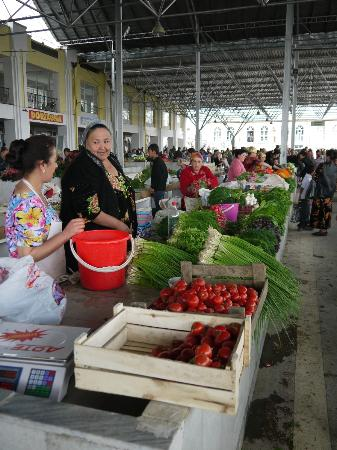 Central Bazaar: buntes Gemüse