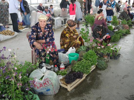 Central Bazaar: Kräuter