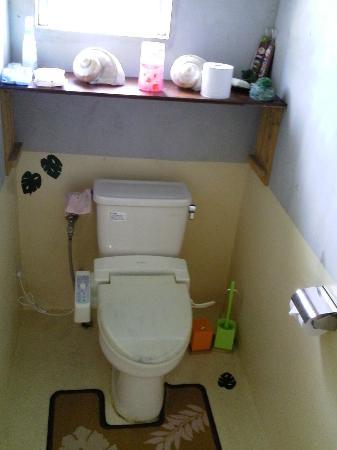 Minshuku Mosura: 共同トイレ