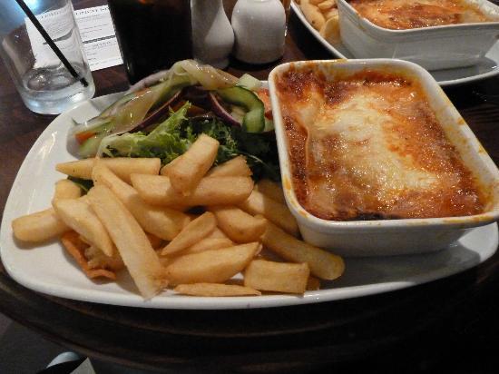 Prince of Wales: Lasagne