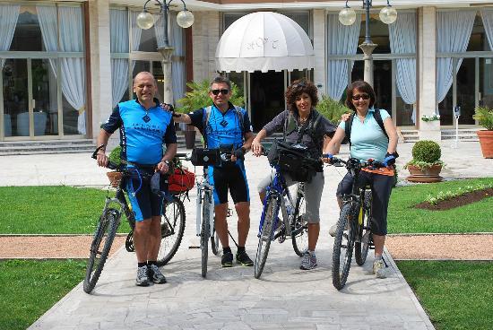 Hotel Terme Venezia: pedalando