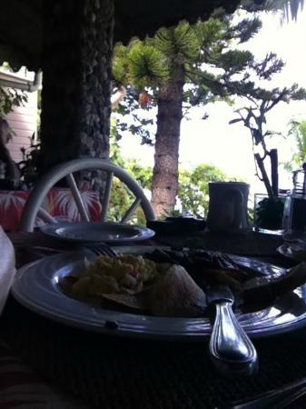 The Sugar Mill Restaurant: breakfast!