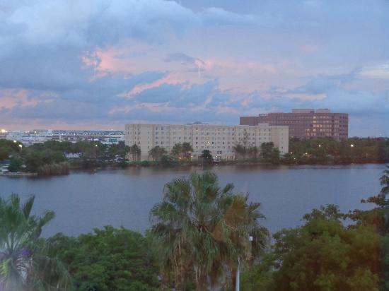Hampton Inn & Suites by Hilton - Miami Airport / Blue Lagoon: View from our suite