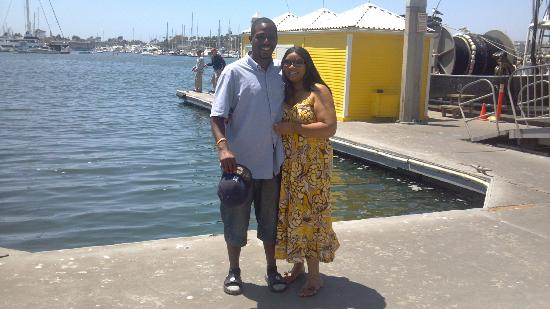 Fisherman's Village: me an my wife