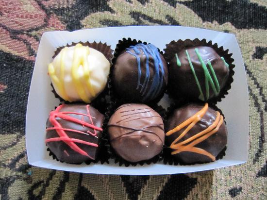 Beaumont Hotel & Spa: Chocolate truffles!