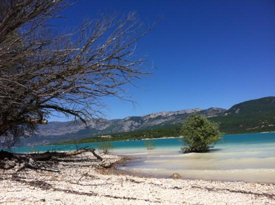 Camping la Ferme de Castellane : Lac de Ste-Croix bei Castellane