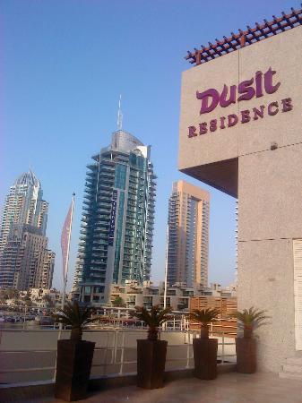 Dusit Residence Dubai Marina: Entrance