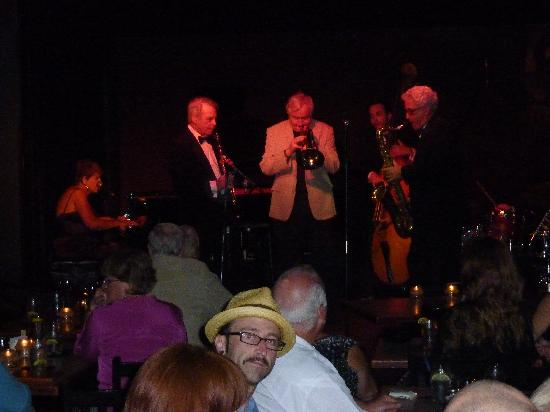 The Jazz Corner: You sit very close to the stage!