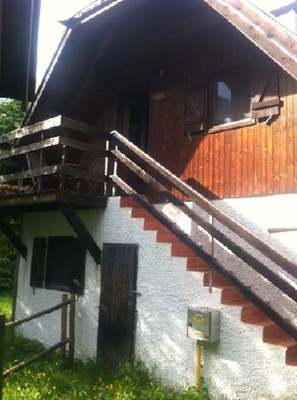 Pristava Lepena: our cabin