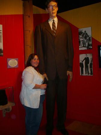 Ripley's Believe It or Not! Branson : Tallest Man