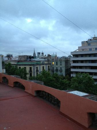 Hotel Arc La Rambla: Another balcony view