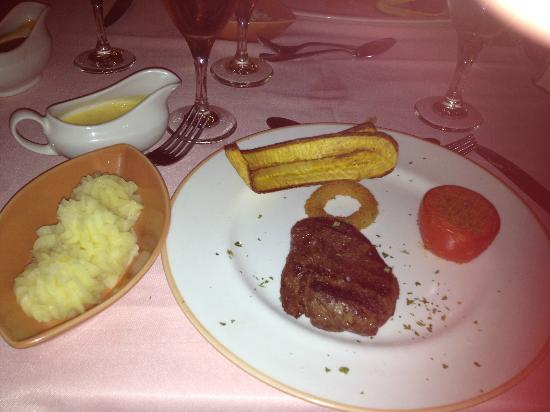 Majestic Elegance Punta Cana: Beef Tenderloin from the Steakhouse
