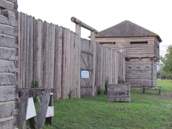 Stockade and Blockhouse Old Fort Madison