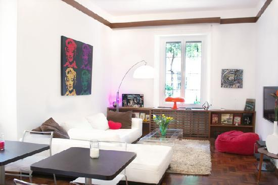 Monteverde Guesthouse: Living Room