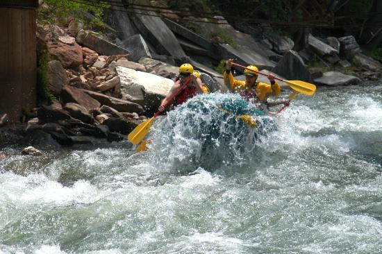 Elk Mountain Expeditions: You WILL get WET!