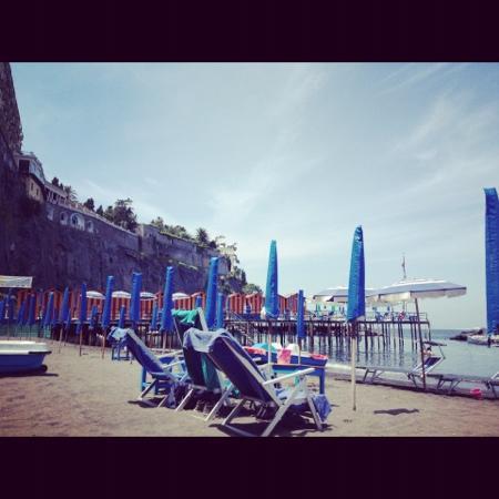Photo of Beach Leonelli's Beach at Via Marina Piccola 55, Sorrento 80067, Italy