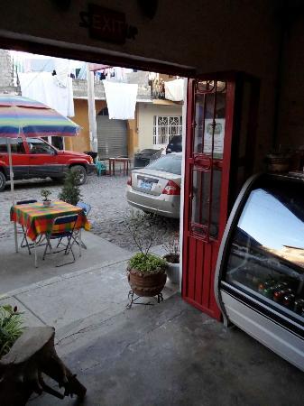 Cafe 5 Doorway