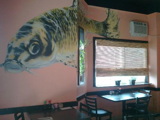 Ukiyoe: dining room