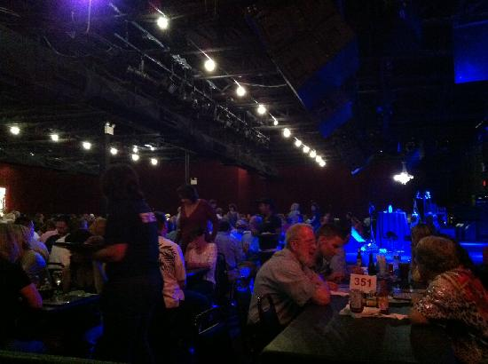 The Birchmere: Dinner Tables