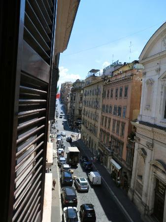 Hotel Sistina: Via Sistina