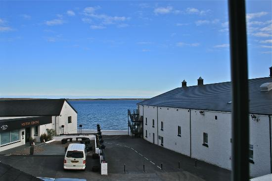 Bowmore, UK: View of Loch Indaal from the cottage