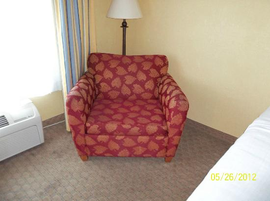 Holiday Inn Express Pikeville: Oversize Chair in the Room