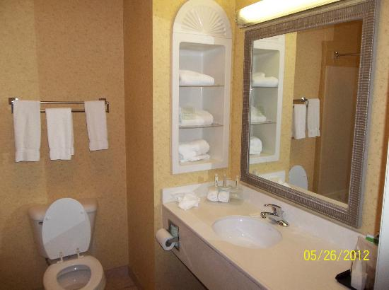 Holiday Inn Express Pikeville: Spacious bathroom