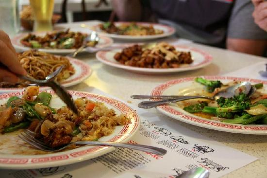 Mr. Ning's Chinese Garden: @ Mr.Ning....everything was delish. I told them to make everything spicy and it came out perfect