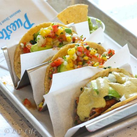 Puesto: Taco Trio!  Been, Fish and Shrimp