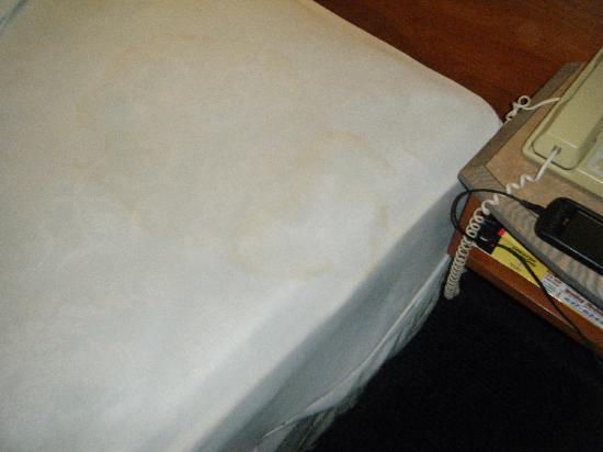 Sandston Inn : Dirty Mattress Pad