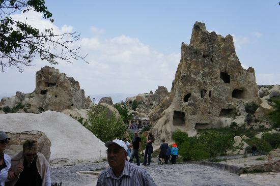 Cappadocia Cave Dwellings: Mountain caves