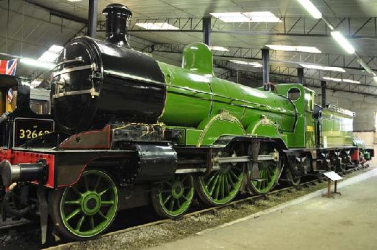 Bressingham Steam Museum and Gardens: Steam exhibits