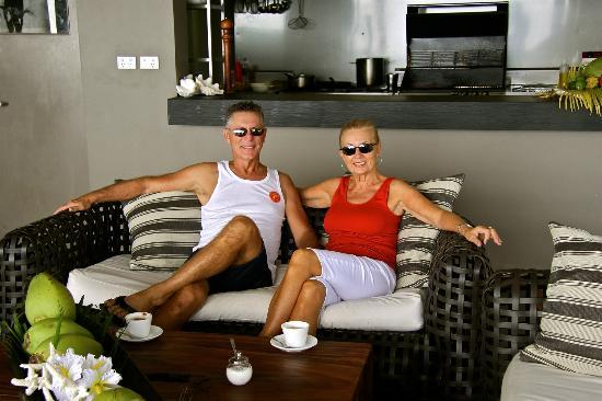 Tadrai Island Resort: Coffee before breakfast