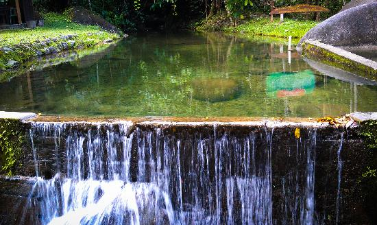 Gunung Gading National Park : One of the two natural stream pool side by side