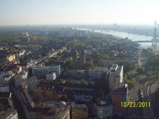 KölnTriangle: Triangulo Panorama Colonia Köln