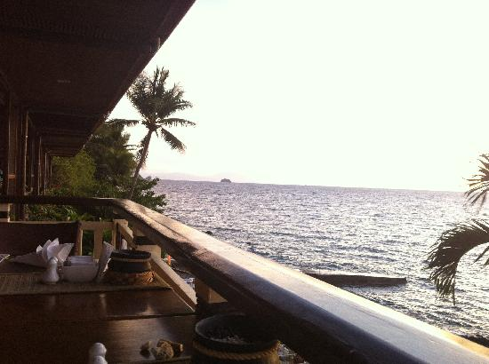 Eagle Point Resort: View From the Restaurant