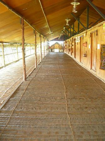 Sabah Tea Garden: The Longhouse