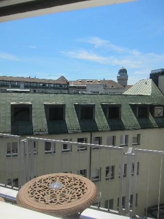 Townhouse Boutique Hotel: View from the Terrace