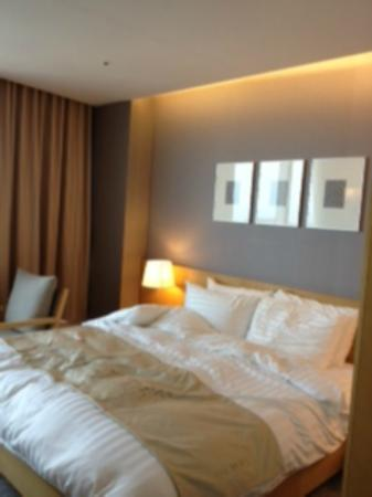 The MVL Yeosu: view of the room